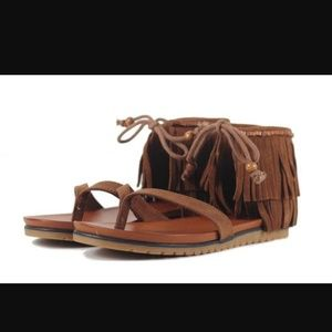 27c8ae708f15 Women s Mia Suede Sandals on Poshmark